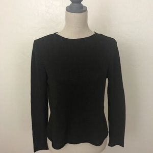 Eileen Fisher Brown Thin Silk Blend Sweater Size M